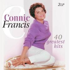 40 Greatest Hits von Connie Francis (2013), Vinyl, Neuware, 2 LP Set