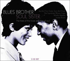 Blues Brother Soul Sister 1950s 60s Music Songs 3 CD