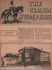 "Montana History Story Mistitled ""The Claim Jumper+Beard,Briggs,Brockway,Chambers"