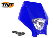 Tete de fourche phare Master BLEU Moto Cross Enduro Dirt Headlight Yamaha NEUF
