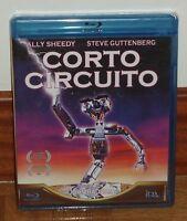 CORTO CIRCUITO-SHORT CIRCUIT-CORTOCIRCUITO-BLU-RAY-NUEVO-PRECINTADO-COMEDIA