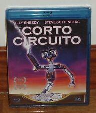 CORTO CORTO-CIRCUITO CIRCUIT-CORTOCIRCUITO-BLU-RAY-NUEVO-PRECINTADO-COMEDIA