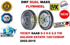 Pour Saab 9-3 9-5 2.2 Tid Paire Est 120/125BHP 2002-2015 Neuf Double Masse Dmf