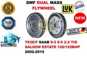 FOR SAAB 9-3 9-5 2.2 TiD SAL EST 120/125BHP 2002-2015 NEW DUAL MASS DMF FLYWHEEL