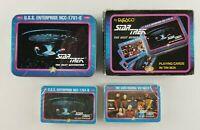 Vintage Star Trek Next Generation Poker Playing Cards in Tin (Box has wear)