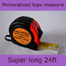 Birthday Present For Him Personalised Engraved Tape Measure Dad Grandad Father's