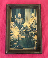 Queen Victoria, Tsar Nicholas II, Tsarina Alexandra, Antique Portrait Rare!!!