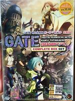 Gate: Jieitai Kano Chi nite, Kaku Tatakaeri: Season 1 & 2 (1 - 24 End) ~ 2-DVD ~