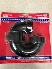 """RV - Mobile Home / Bathtub Trap 1 1/2"""" x 1 1/2"""" Hard to Find Size - New in Pkg"""