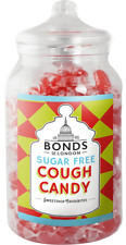BONDS SUGAR FREE - COUGH CANDY - 2KG JAR, TRADITIONAL BOILED SWEETS,