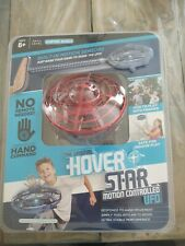 Original Hover Star Motion Controlled UFO Flying Drone Toy, Red Kids Easy NEW