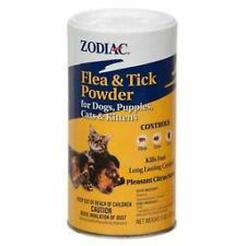 Zodiac Flea & Tick Powder 6oz for Dogs, Puppies, Cats & kittens