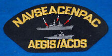 Navseacenpac AEGIS/ACDS Embroidered Patch