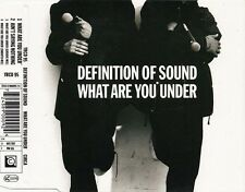 Definition Of Sound CD Single What Are You Under - Europe (M/EX+)