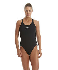 Speedo Ladies Endurance Medalist Swimsuit 36in Black