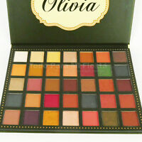 Beauty Creations Olivia Eyeshadow Palette High Pigment Color Matte Shimmer