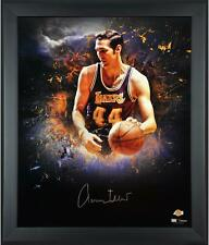 "Jerry West Los Angeles Lakers Framed Autographed 20"" x 24"" In-Focus Photo"