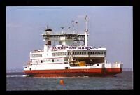 SIM0212 - Southampton - Isle of Wight Ferry - Red Eagle , built 1996 - postcard