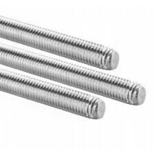 LH 8.8 Stahl verzinkt Linksgewinde 1m Gewindestangen Gewindebolzen DIN 976-1