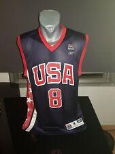 CAMISETA SHIRT VINTAGE REEBOK USA BASKETBALL TEAM N°8 BRYANT TALLA M