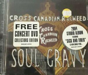 CROSS CANADIAN RAGWEED- SOUL GRAVY *CD/DVD 2PZ NEW SEALED NUOVO SIGILLATO RARO