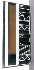"""SEEBURG STD2 JUKEBOX part sale - lower GLASS """"ENTERTAINER"""" - larger of the two"""