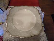 Wedgewood, Celestial Platinum, Square Salad/Dessert Plate
