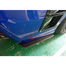 Matte Black For Subaru WRX STI 4th CS Side Rear Bumper Lip Splitter Spoiler
