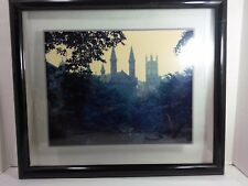 Vintage Original Framed Picture of London Scene in the 1960's