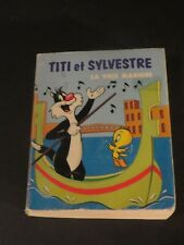 TWEETY & SYLVESTER WHITMAN MINI BIG BOOK COMIC 1976 IN FRENCH LA VOIX MAGIQUE
