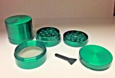 40mm 4 Part Leaf Metal Herb Magnetic Grinder Pollinator Crusher