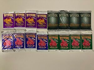 Wyvern CCG TCG Booster Packs 4 x Chameleon 4 x Phoenix 4 x Kingdom 4 x Limited