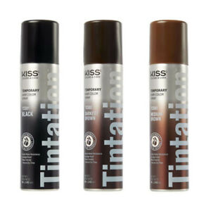 KISS TINTATION TEMPORARY HAIR COLOR SPRAY 2.82OZ *PICK 1