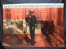 FOTOBUSTA CINEMA - MORTE DI UN MATEMATICO NAPOLETANO - C. CECCHI - 1992 - DRAMM