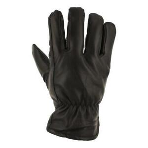 Carhartt Men's Black 100% Leather Insulated Driver Gloves Size XL **