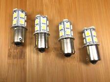 4 BBT 12 volt White LED 1156 Light Bulbs