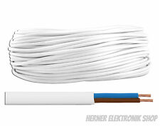 OMY  2 x 0,5 mm²  300/300V weiß 20m - Schlauchleitung Stromleitung
