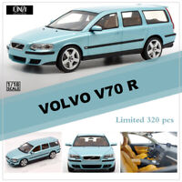 Limited DNA Collectibles 1:18 Scale VOLVO V70 R Resin Car Model Blue Color