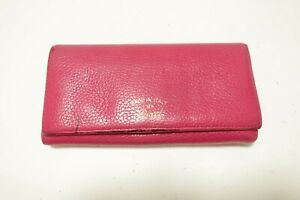 Authentic GUCCI GG  Leather Long Wallet  #9859