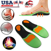 Heel Arch Support Orthotic Shoe Insoles Ankle Brace Plantar Fasciitis Socks Foot