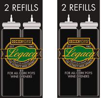 2 X Cork pops Refills Cartridges for CorkPops Wine Opener  - Australia