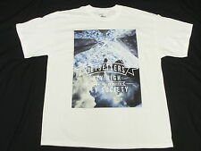 NEW Mens Fly Society T-Shirt All City Tee White Urban *Made In USA* Size S M661