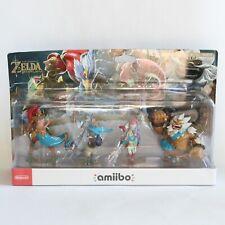 The Champions Pack Amiibo Zelda Breath of the Wild Nintendo Switch WiiU 3DS