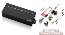 Emg 66-8H Black 8 String Humbucker Active Guitar Pickup Pots, Jack & Wiring