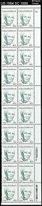 US 1984 SC 1868 40¢ LILLIAN GILBRETH 20 STAMP PBLK #2 CMP MNH OG W/CR&ZP VFINE