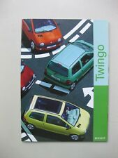 Renault Twingo prestige brochure Dutch text 20 pages 1998
