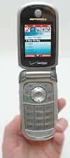 Motorola V325i Silver Verizon Wireless Flip Cell Phone Camera Bluetooth Calendar