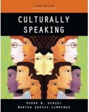 RHONA B. GENZEL, MARTHA GRAVES C****** - Culturally Speaking - Print on Demand