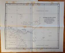 Boundary between British and German Colonies Western Pacific Queensland 1886