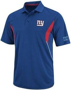 New York Giants Team Apparel Field Classic Dri Fit Polo Shirt Big & Tall Sizes